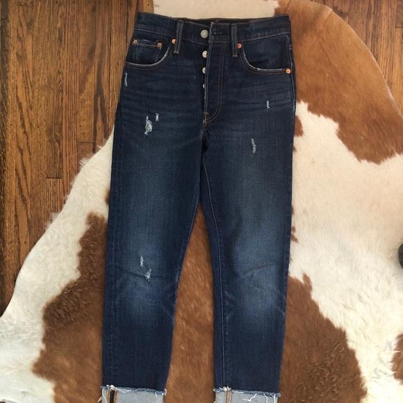 Levi's Denim - Levi's button fly high rise jeans